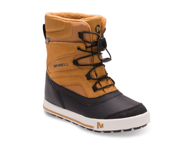 Merrell Snow Bank 2.0 Waterproof Boots Youth Wheat/Black